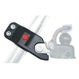 Hebie Adapter na sztycę siodła dla haka holowniczego F 1 czarny